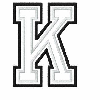 Uni K Bestickte Fleece Track Jacke