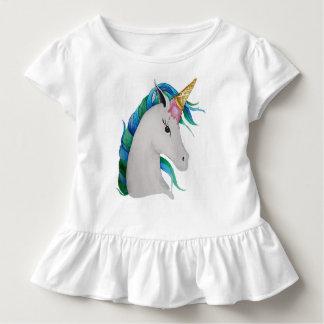 Uni-Kegel Eiscreme-Einhorn Kleinkind T-shirt