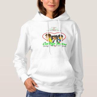 Uni-Liebhaber-mit Kapuze Sweatshirt