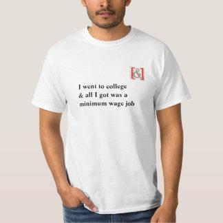 Uni-Mindestlohn-T - Shirt -