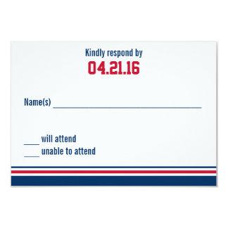 Uni-Streifen-Bar Mitzvah Wartekarte 8,9 X 12,7 Cm Einladungskarte