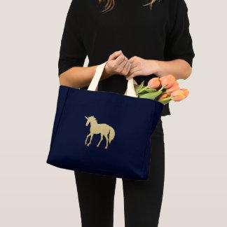 Unicorn-Budget-Tasche Mini Stoffbeutel