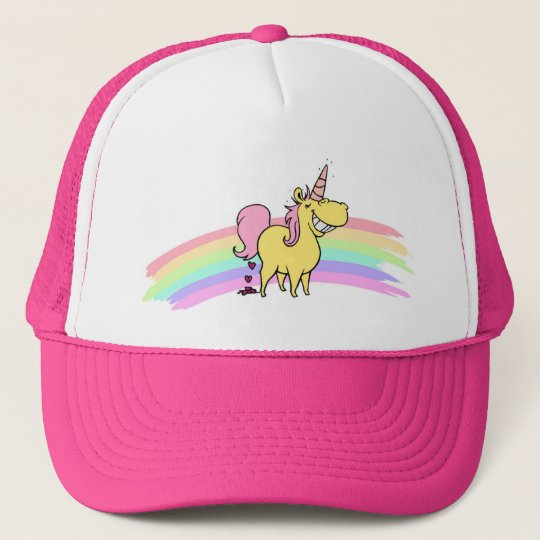 unicorn cap truckerkappe