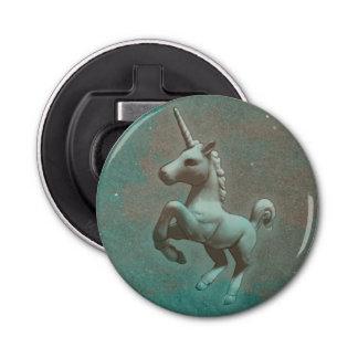 Unicorn-Flaschen-Öffner magnetisch (aquamariner Runder Flaschenöffner