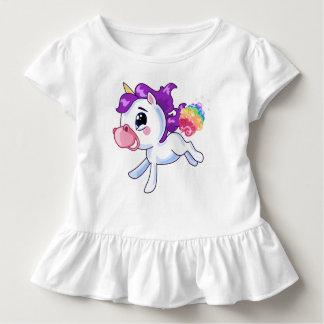 Unicorn-Furzen Kleinkind T-shirt