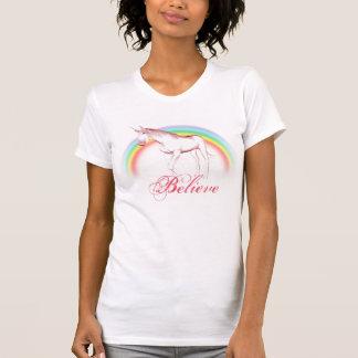 Unicorn glauben T - Shirt