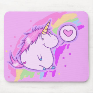Unicorn-Liebe Mauspads
