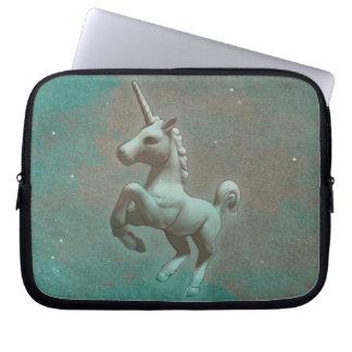 Unicorn-Neopren-Laptop-Hülse (aquamariner Stahl) Laptop Sleeve