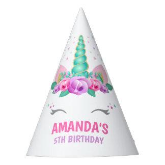 Unicorn-Party-Hut, Unicorn-Geburtstags-Party Partyhütchen