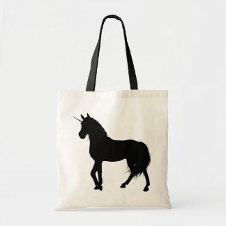 Unicorn-Silhouette-Tasche Tragetasche