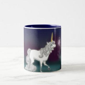 Unicorn-Tasse Zweifarbige Tasse