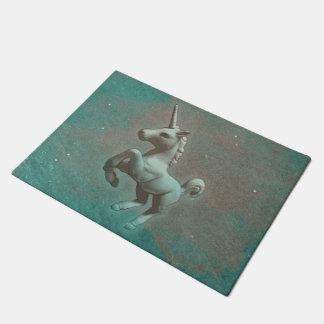 Unicorn-Tür-Matte (aquamariner Stahl) Türmatte