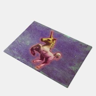 Unicorn-Tür-Matte (lila Nebel) Türmatte