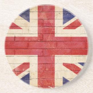 unionflag getränkeuntersetzer