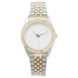 Unisexc$zwei-ton Armband-Uhr Armbanduhr