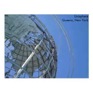 Unisphere Postkarte