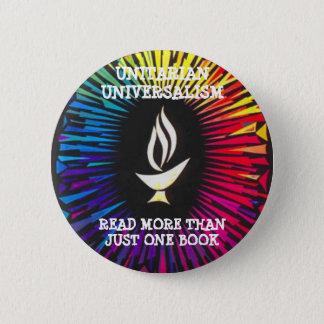 Unitarians lasen mehr als gerade ein Buch Runder Button 5,7 Cm