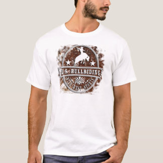 United states bull riding rodeo wild west traditon T-Shirt