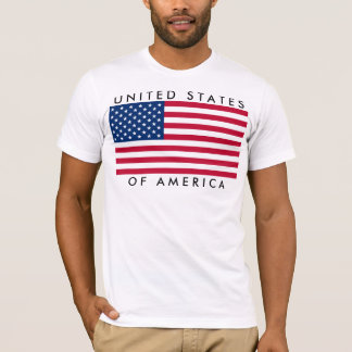 United States of America USA Flagge America Fahne T-Shirt