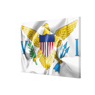 United- States Virgin Leinwanddruck