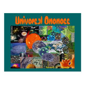 Universelle Einsseinpostkarte Postkarte