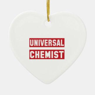 Universeller Chemiker Keramik Herz-Ornament