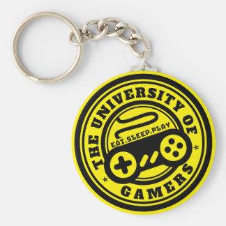 Universität des Gamers-Logo-Spiels Keychain Schlüsselanhänger