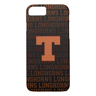 Universität des Logo-Musters Texas | iPhone 8/7 Hülle