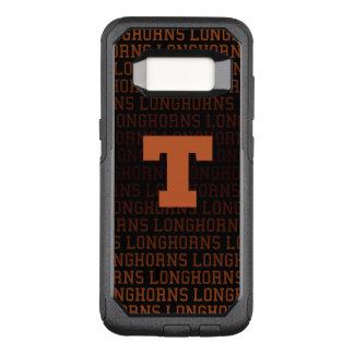 Universität des Logo-Musters Texas | OtterBox Commuter Samsung Galaxy S8 Hülle