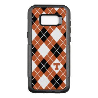 Universität des Rauten-Musters Texas | OtterBox Commuter Samsung Galaxy S8+ Hülle