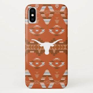 Universität gebürtigen Stammes- Musters Texas | iPhone X Hülle