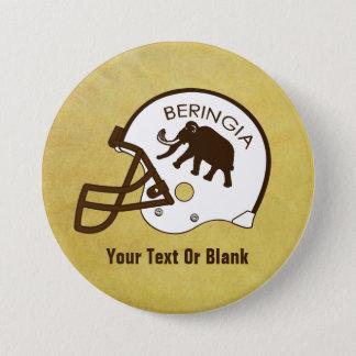 Universität von Beringia Fußball Runder Button 7,6 Cm