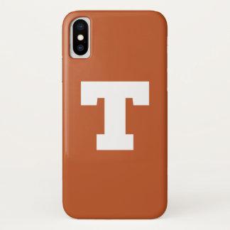 Universität von Logo Texas | Texas iPhone X Hülle