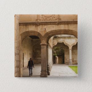 Universität von Salamanca Quadratischer Button 5,1 Cm