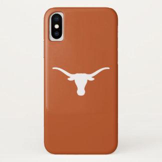 Universität von Texas | haken sie Hörner iPhone X Hülle