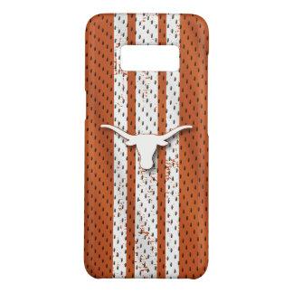 Universität von Texas | Longhorns-Jersey-Muster Case-Mate Samsung Galaxy S8 Hülle