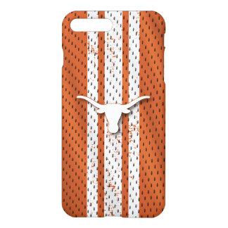 Universität von Texas | Longhorns-Jersey-Muster iPhone 8 Plus/7 Plus Hülle