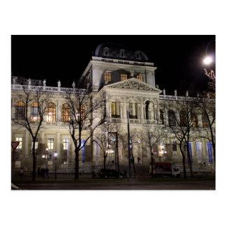 Universität von Wien Österreich Postkarte