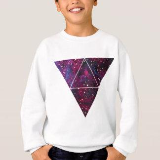 Universum des Dreieck-Raum-Lebens Sweatshirt