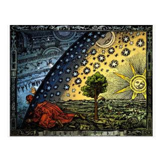 Universum Postkarte