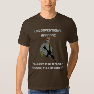 UNKONVENTIONELLE KRIEGSFÜHRUNG T-Shirts
