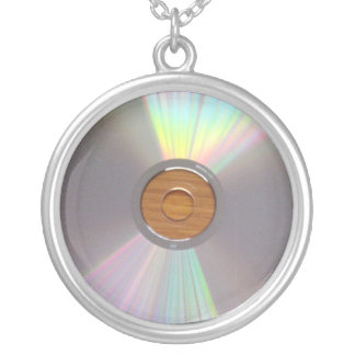 Unkonventionelle u schrullige CD Halskette