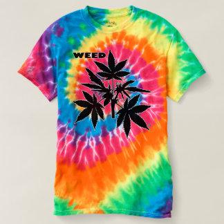 Unkraut-Baum Bubs schwarz-Zeichnende gewundene T - T-shirt