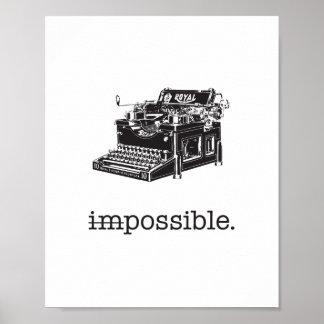 Unmöglich, möglich - Plakat