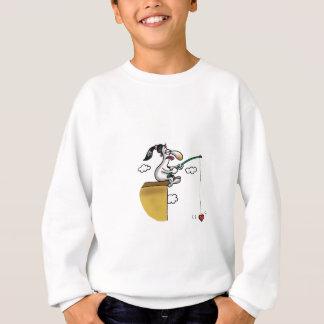 Unmögliche Liebe - Liebe-Fischerei Sweatshirt