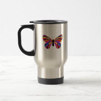 Unmöglicher Schmetterling Reisebecher