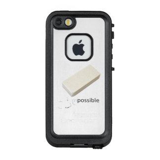 unmögliches motivierend LifeProof FRÄ' iPhone SE/5/5s hülle