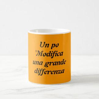 UNO PO 'Modifica una großes differenza Kaffeetasse