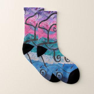 Unordinary Baum-abstrakte Socken