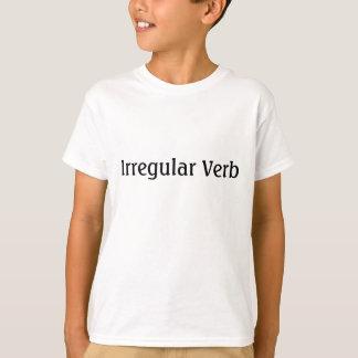 Unregelmäßiges Verb T-Shirt